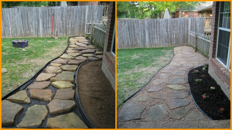 15 Diy Pathway Ideas 101 Recycled Crafts