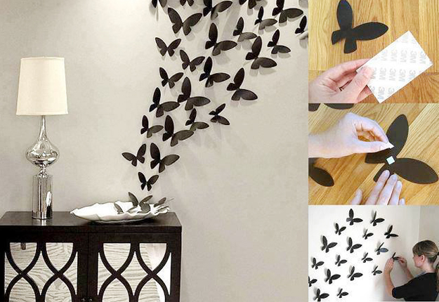 17 amazing diy wall d cor ideas transform your home into for Art and craft for wall decoration
