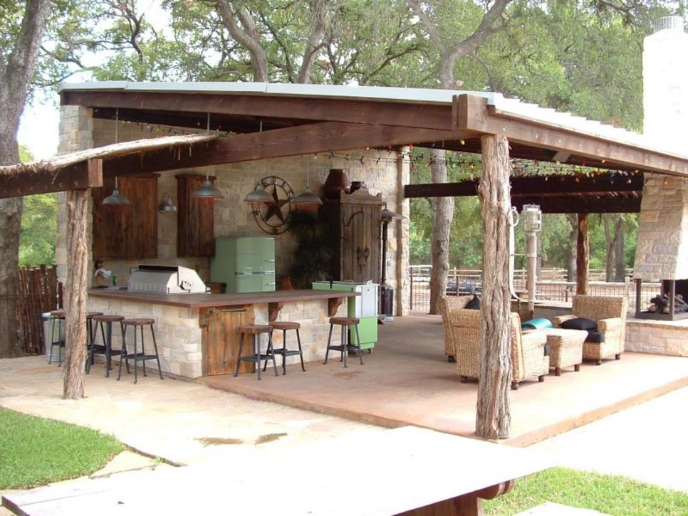20 Beautiful Outdoor Kitchen Ideas 101 Recycled Crafts
