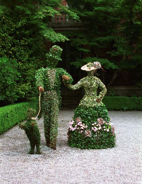 Creatively designed topiary ideas recycled crafts