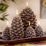 Pinecone Christmas crafts (3)