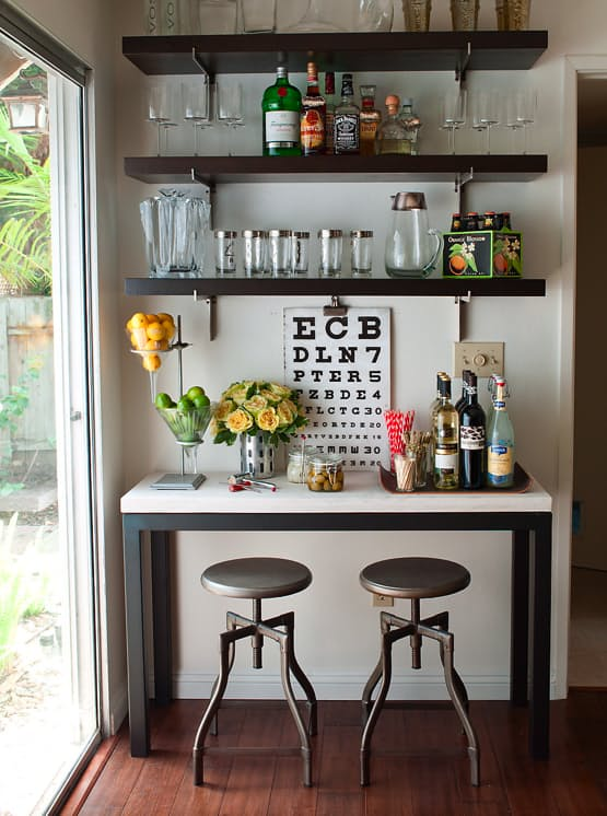 20 Home Bar Ideas, center of chilling out